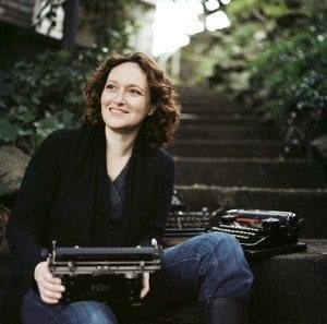 Mary Robinette Kowal. Portland, Oregon, February 2012. Scan of negative RS12-008 #4.